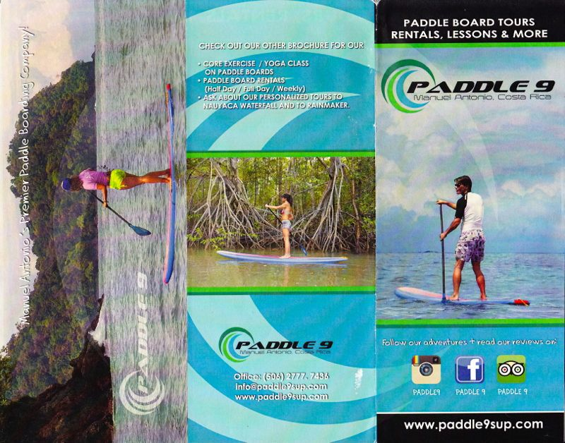 Paddle 9 Brochure