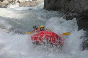 White Water Rafting on the El Chorro