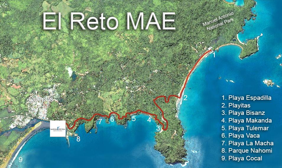 Reto MAE Map