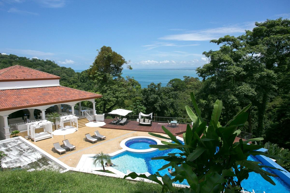 Shana Residences #310, Manuel Antonio, Costa Rica View overlooking the Shana resort & ocean.