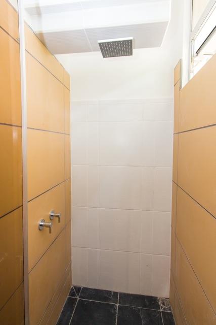 Manuel Antonio, Costa Rica Each bathroom has a rain-head shower.