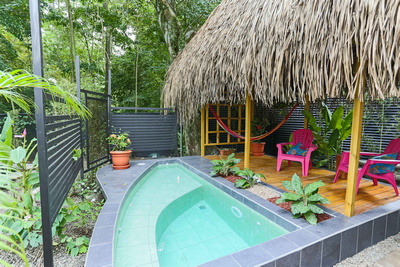 Espadilla Beachfront Villas, Manuel Antonio, Costa Rica Pool