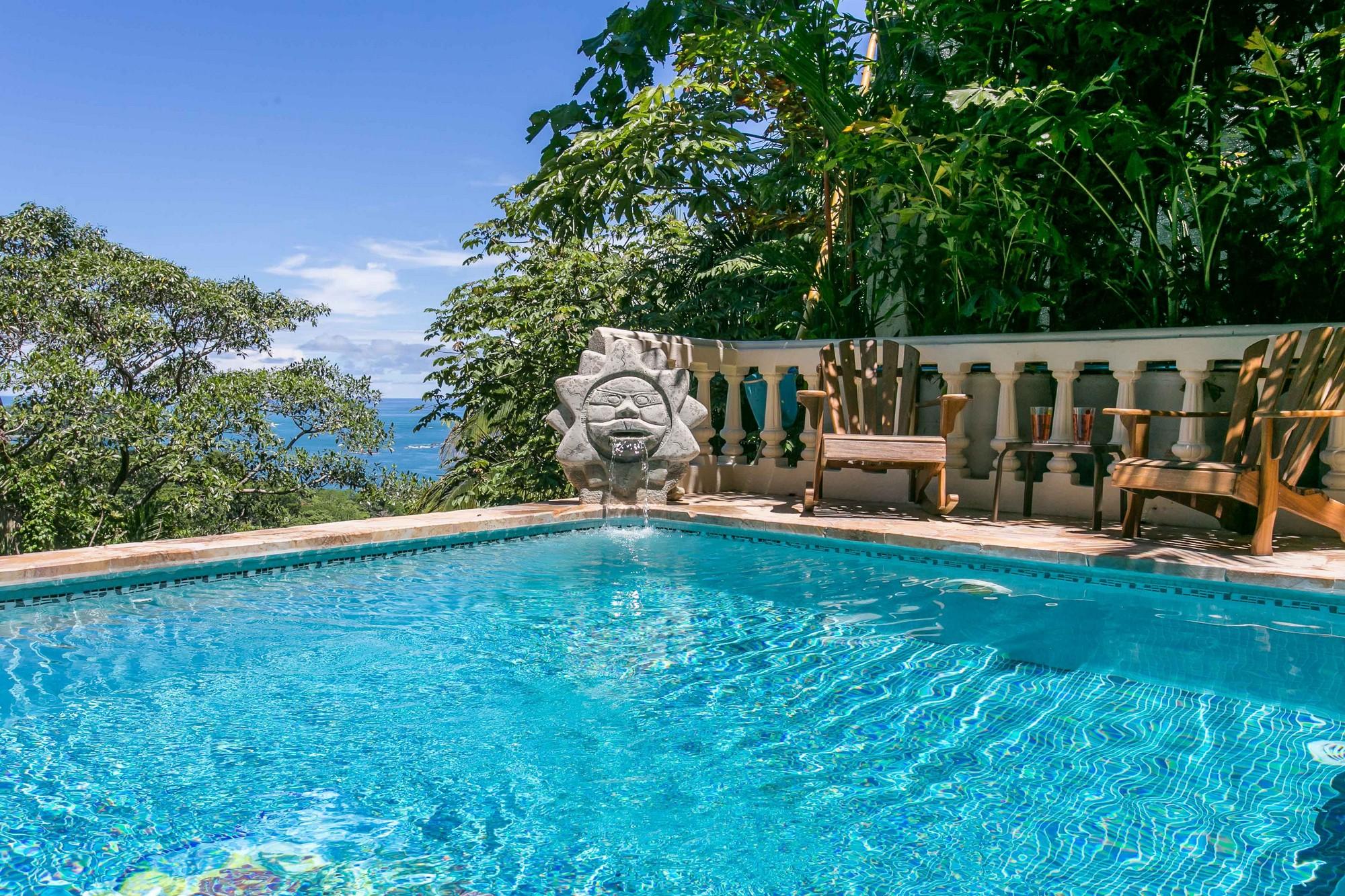 Kastytis Kourt, Manuel Antonio, Costa Rica Huge pool, fit for laps!