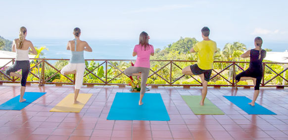 Yoga in Manuel Antonio, villa rentals in Costa Rica